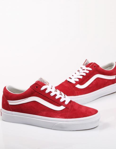vans rojas mujer zapatillas