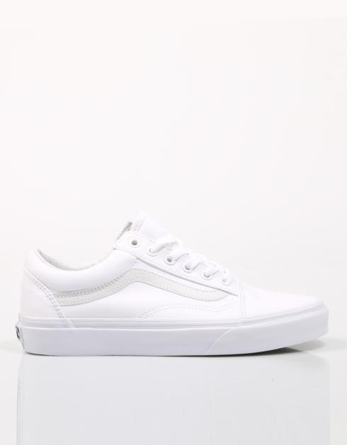 vans old skool blanca