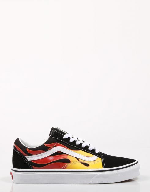 Old Lona Skool 69146 Zapatillas Vans Multicolor FfqAZAR