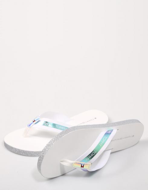 FLAG BEACH SANDAL IRIDESCENT