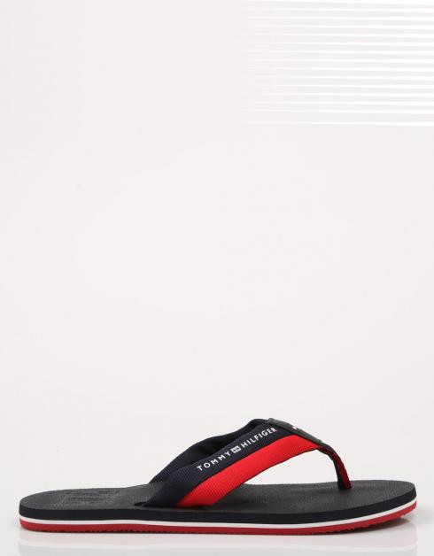 EMBOSSED TH BEACH SANDAL