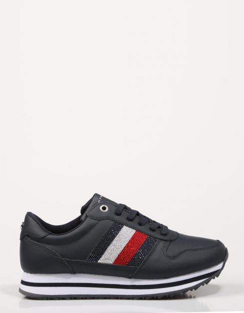 TOMMY RETRO CRYSTAL SNEAKER