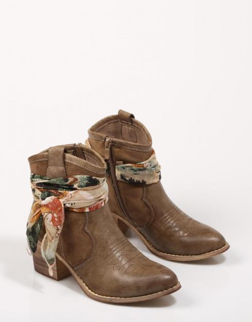 LILY 02 - BOTINES - Taupe