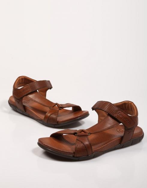Sandalia de Hombre Marrón Kangaroos 6505 18 | en