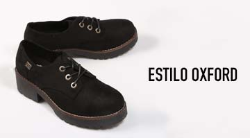 Zapatos estilo oxford